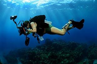 Erfindung und Weiterentwicklung der Unterwasserkamera